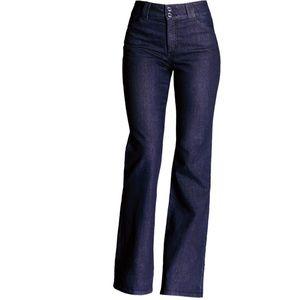NYDJ - Gwenyth Dark Wash Bootleg Jeans